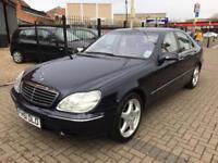 2002 Mercedes-Benz S500 5.0 Auto S500 1 Owner 12 Mot Full Merc Service Bargain