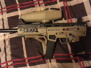 X7 phenom paintball marker