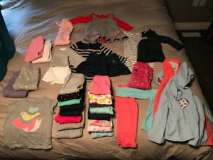 Girls Toddler Clothes 18 - 24 Months Bundle