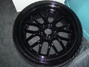 Wheel painting or powdercoat services! any wheel size and colour West Island Greater Montréal image 1