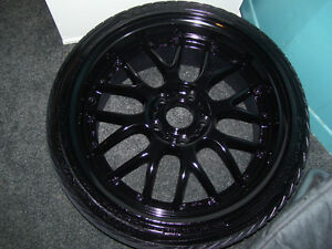 Wheel painting or powdercoat services! any wheel size and colour