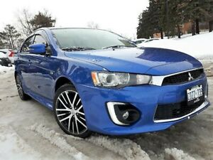 2016 Mitsubishi Lancer GTS AWD with Safety, only 23000KM!