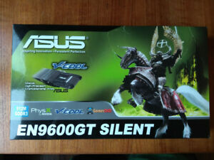 Asus Video Graphic Card EN9600GT SILENT/HTDI/512M
