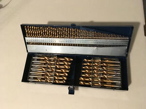 Mastercraft Drill Bit Set of over 100 bits