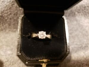 Gorgeous, rare engagement ring for sale!