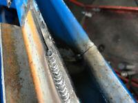 Small Weld repairs and Custom Fabricating.