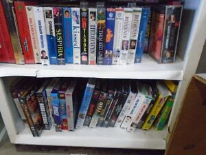 200 VHS Movies