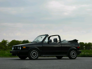 RELIABLE AND CHEAP! 1988 VW CABRIOLET READY TO ENJOY