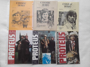 VINTAGE DOCTOR WHO SPECIAL MAGAZINES