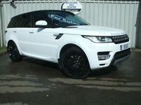2013 Land Rover Range Rover Sport 3.0SDV6 ( 292ps ) 4X4 ( s/s ) Auto HSE White