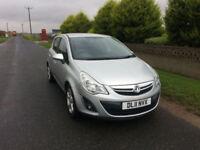 2011 11 Vauxhall Corsa 1.2i 16v SXi Petrol 5 Door Silver MOT July 2018.