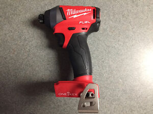Milwaukee M18 Fuel 1/4 Hex Impact Driver With One Key