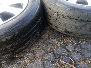 """Acura TSX OEM 17"""" Rims, TPMS,  and Michelin Pilot Tires Cambridge Kitchener Area image 6"""