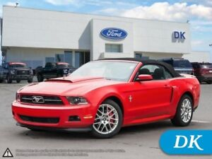 2012 Ford Mustang V6 Premium Convertible w/Leather, Electronics