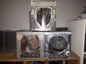 Collectible Lord Of The Rings DVD sets.