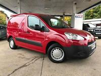 2012 Peugeot Partner 1.6 HDi S L1 625 4dr PANELVAN in RED