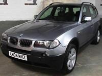 2005 05 BMW X3 2.5i AUTO 192 Bhp SPORT 4x4 4WD AWD * LEATHER * 2 Key * Only 71k
