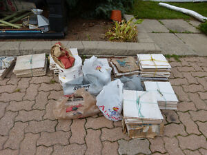 TILES GALORE!!  $20 ALL!! COVERS 50sqft & grout+spacers***