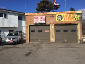 2 bay mechanic shop in Scarborough for Rent
