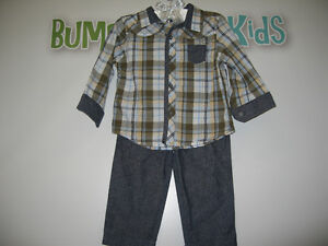 Boy's 12 month (First impression) 2pcs outfit