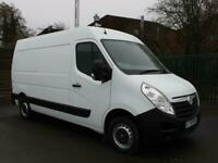 2018 Vauxhall Movano 2.3 CDTI 130ps Medium Wheelbase L2H2 High Roof PANEL VAN D