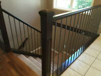 Handrail finishing or refinishing