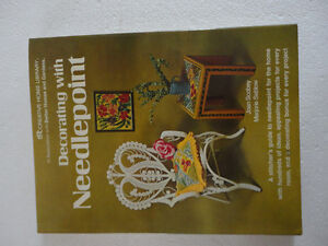 DECORATING WITH NEEDLEPOINT1976 SCOBEY & SABLOW HARDCOVER BOOK London Ontario image 1