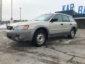 2006 Subaru Outback 2.5i  ONLY 109000km one owner - Certified