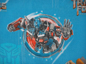 Transformers Revenge of the Fallen Full Flat Bed Sheet 2009