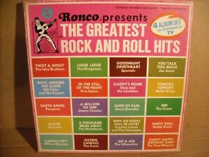 Ronco presents The Greatest Rock & Roll Hits 4 LP Box Set! Belleville Belleville Area image 2