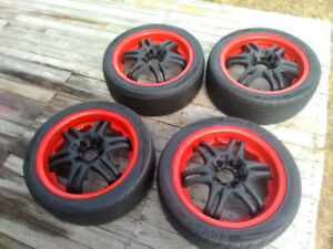 17 Inch Aftermarket Alloy Rims (Fits 4 Lug Vehicles Only)