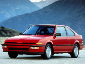 LOOKING FOR A 1ST GEN ACURA INTEGRA 87-89