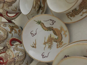 Dragonware dishes