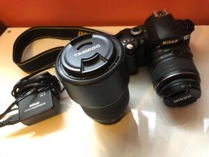 Nikon D40X (w/ 18-55mm lens)& Tamron 70-300mm lens Bundle!