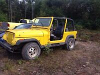 Jeep for parts