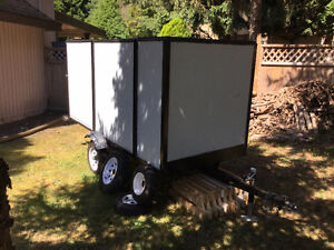 A Custom Built Enclosed Trailer