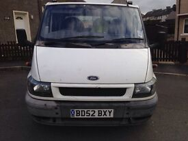 Transit tipper for sale £1900 ( Ono )