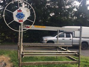 Élévateur à bateau ( boatLift ) Shore Station 3600 lbs