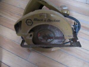 Scie Circulaire Black & Decker 7.25 pouces