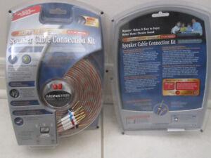 NEW - Monster Speaker Cables H.I.B.S Series