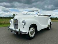 1951 Austin A40 Dorset Tourer. Cream with tan leather interior