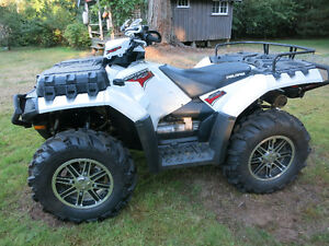 2011 Polaris Sportsman 850 Special Edition with trailer