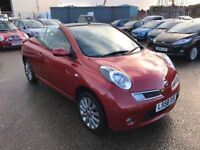 Nissan Micra Acenta C+C Hard Top Convertible, *1 Former Female Keeper* +Low Mileage+ Warranty