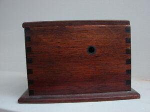 vintage 1920's Wooden DOVETAIL storage box Belleville Belleville Area image 4