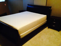 Sleigh Bed & Bedroom Set