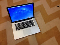 """15"""" Macbook Pro with UPGRADED memory plus laptop cases and bag"""