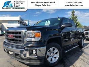 2014 GMC Sierra 1500 SLE  4x4,REARCAM,REMOTE START,TONNEAU COVER