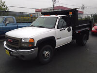 2006 GMC 3500 one ton dump