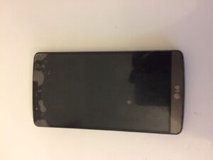 Used black LG G3 in good condition!!
