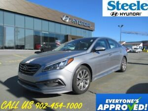 2015 Hyundai Sonata 2.4L Sport Tech Navigation leather sunroof b